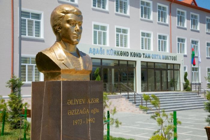 Se inauguran 62 escuelas con el apoyo de la Fundación Heydar Aliyev en Azerbaiyán