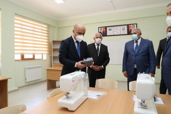 Rayonlarda təhsil müəssisələrinin açılışı oldu -  FOTOLAR