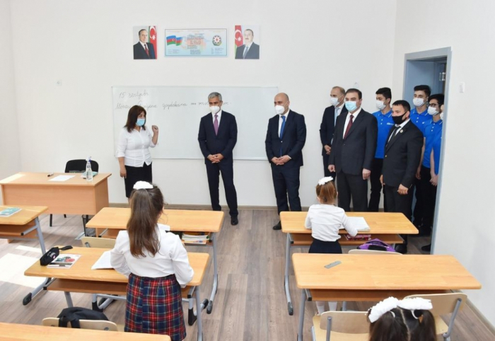 Heydər Əliyev Fondu tərəfindən 62 təhsil müəssisəsi istifadəyə verilir -  FOTOLAR