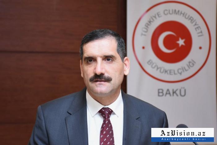 Embajador:   El apoyo de Azerbaiyán fortalece a Turquía