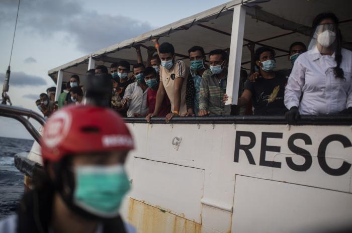 Dozens of migrants dead after boat capsizes in Mediterranean Sea off Libya