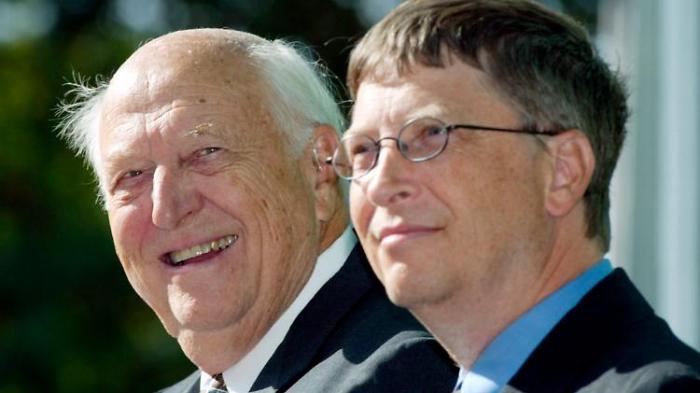 Bill Gates trauert um seinen Vater