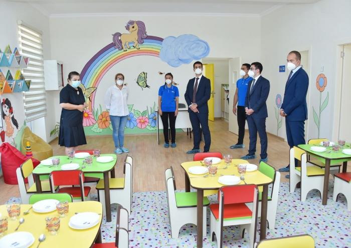 Heydar Aliyev Foundation opens new kindergartens in Baku -  PHOTOS