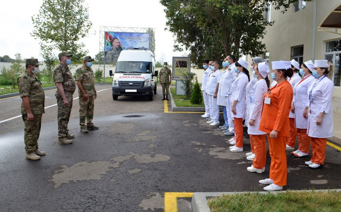 New department of military hospital opens in Ganja