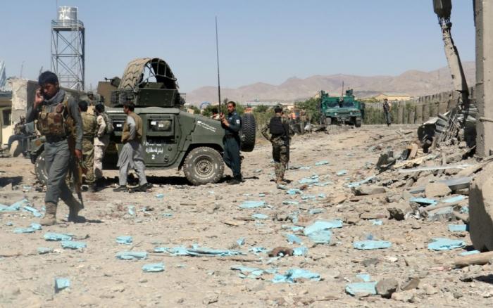 Al menos ocho policías muertos a causa de un ataque talibán en el este de Afganistán