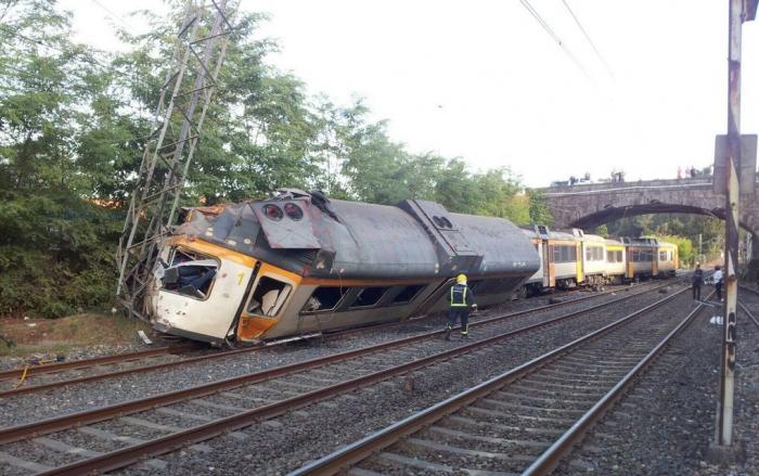 Cuatro herido leves tras descarrilar un tren a pocos kilómetros de Zarzalejo