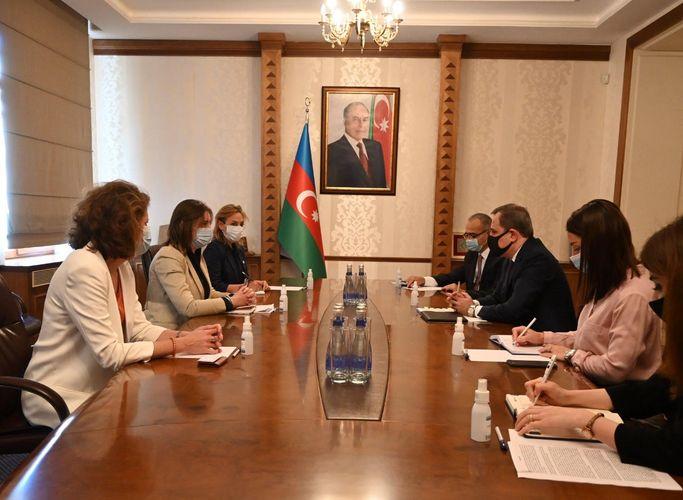 FM Jeyhun Bayramov meets head of ICRC Azerbaijan Delegation