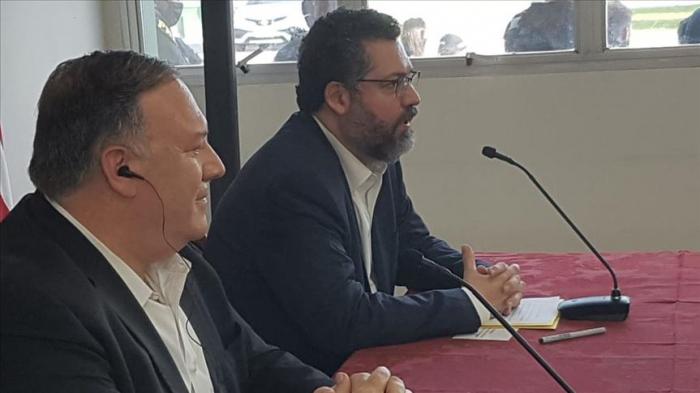 """Mike Pompeo y Ernesto Araújo fortalecen apuesta conjunta para """"redemocratizar Venezuela"""" y ver """"caer"""" a Maduro"""