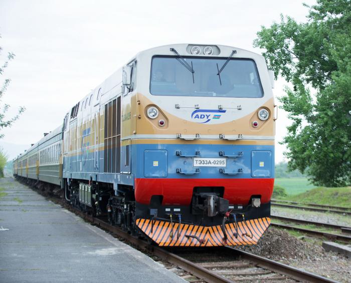 Azerbaiyán llevará nuevas locomotoras de mercancías de Francia