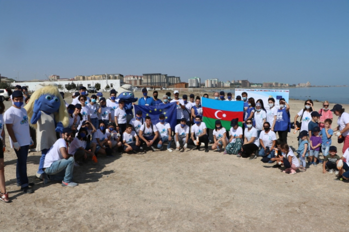 EU delegation organized beach clean-up event