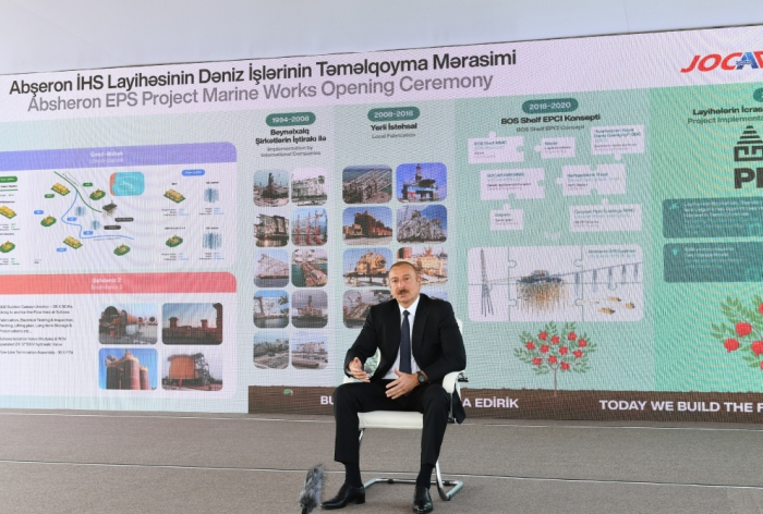 """Ilham Aliyev:   """"Azerbaiyán actualmente está en la vanguardia de todas las clasificaciones"""""""