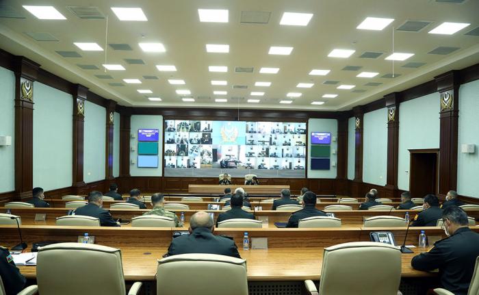 Zakir Hassanov a tenu une réunion avecla direction de l