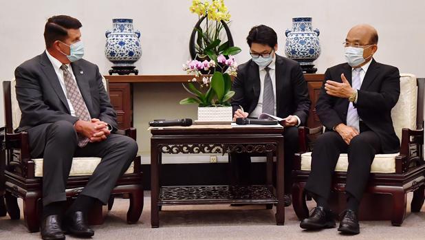 China muestra los dientes por la segunda visita de EE.UU. a Taiwán
