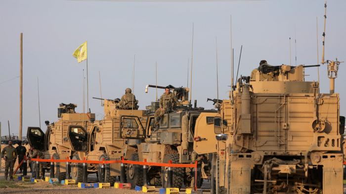EE.UU. despliega vehículos blindados en Siria