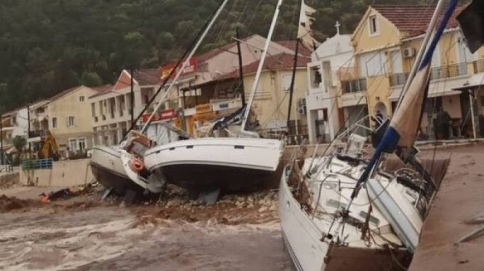 Hurricane-like storm in Greece leaves two dead