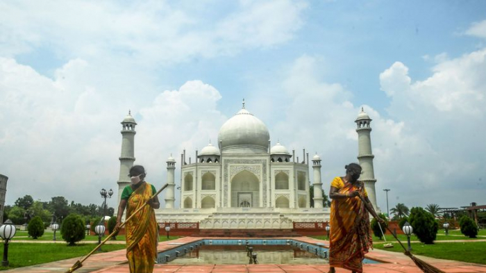Inde: le Taj Mahal a rouvertmalgré la progression du coronavirus