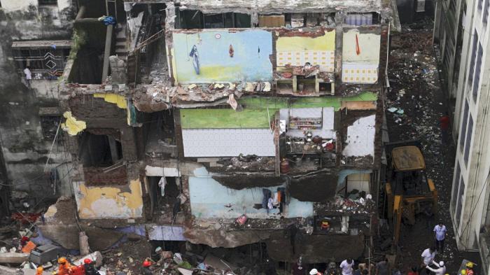 Au moins neuf personnes sont mortes dans l'effondrement d'un immeuble d'habitations en Inde