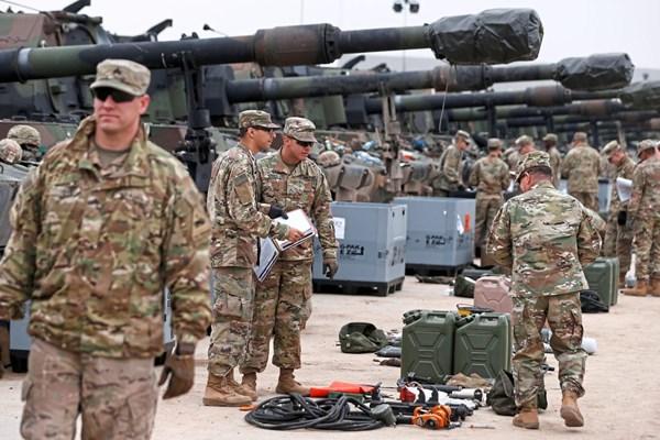 US-Soldaten trainieren für Großoperationen –     Video
