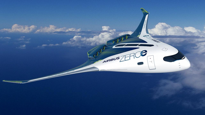 Airbus unveils plans to produce zero-emission planes powered by hydrogen
