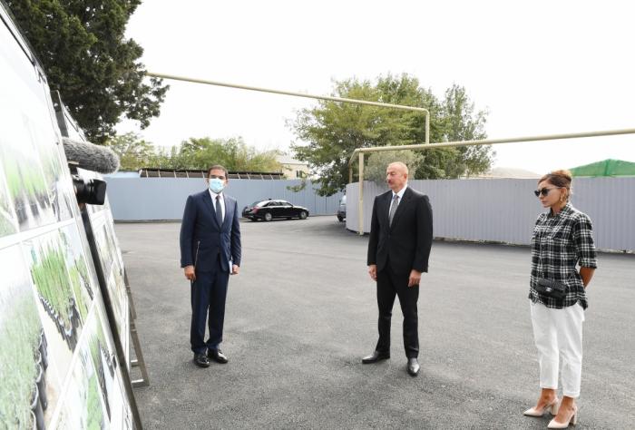 """""""Balaxanı kəndinin yeni dövrü başlayır"""" -    İlham Əliyev"""