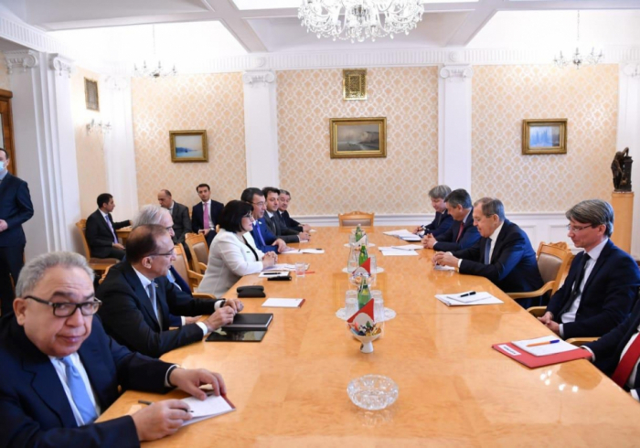 Russian FM affirms Russia`s intention to deepen relations with Azerbaijan