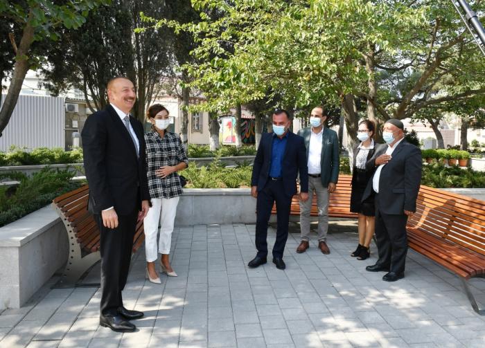 """""""Öl dient dem Wohl der Menschen in Aserbaidschan""""   - İlham Aliyev"""