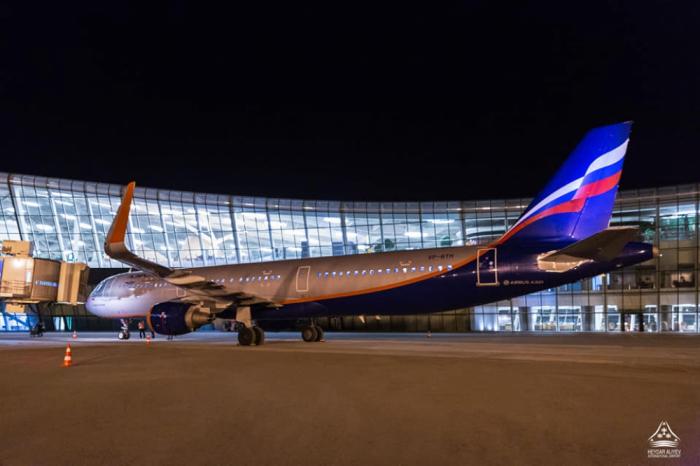 """""""Aeroflot"""" Bakıya uçuşlara başladı"""