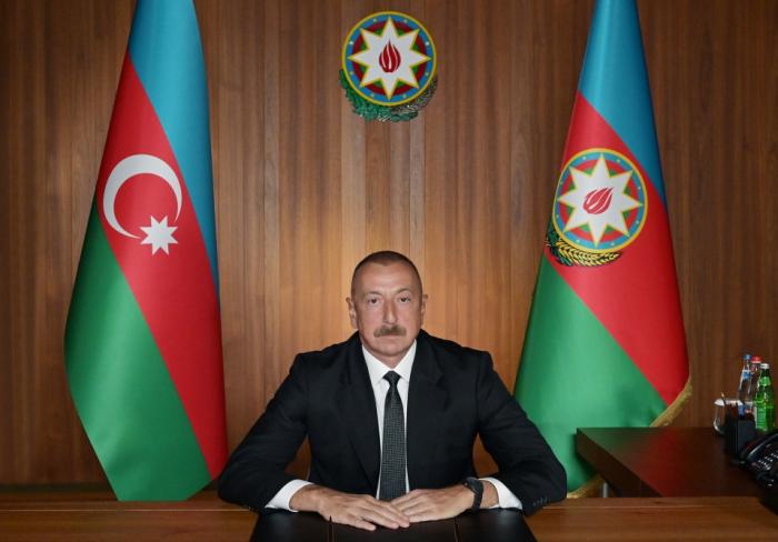 إلهام علييف يطرح مقترحات مهمة في الأمم المتحدة
