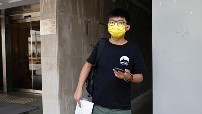 Demokratie-Aktivist Joshua Wong ist festgenommen