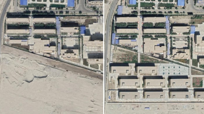China constructs nearly 400 internment camps in Xinjiang