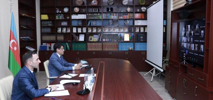 Almaniya azərbaycanlıları ilə videogörüş keçirilib