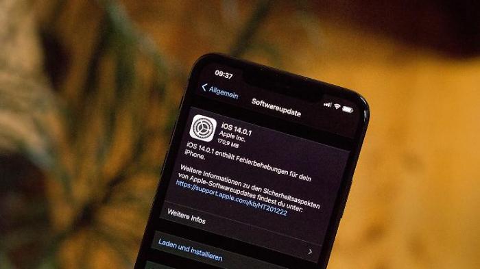 iOS 14.0.1 behebt lästige Fehler