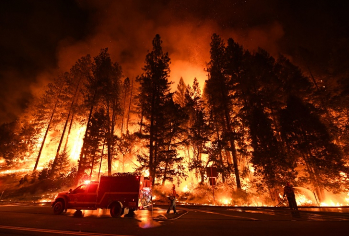 Climate change driving scale of California wildfires, study says