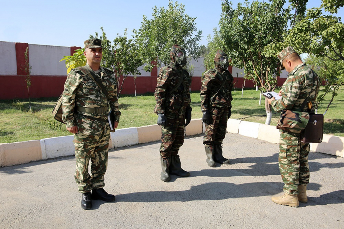 Azerbaijan's Combined Arms Army holds competition to name 'best non-staff chemical protection unit' -   VIDEO