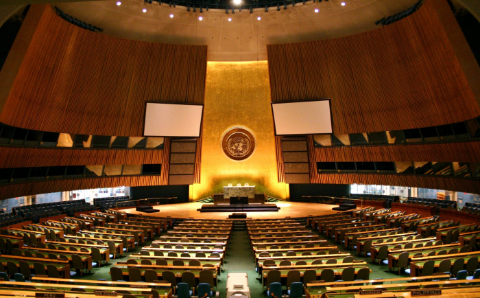 Azerbaijani delegation to UN responds to Armenian PM's statement at General Assembly session