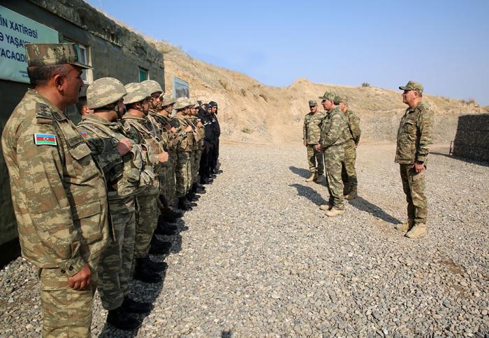 Azerbaijani prosecutor general and military prosecutor visit military units on frontline