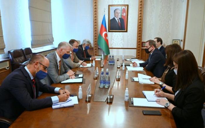 Jeyhun Bayramov traf sich mit dem EU-Sonderbeauftragten