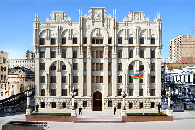 Azerbaijani Prosecutor General's Office issues press release on Armenian Armed Forces' attacks