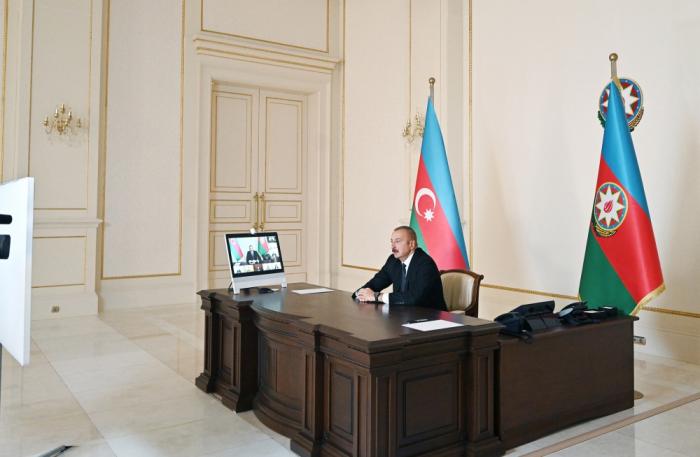 Prezident işğaldan azad edilən kəndlərdən danışdı