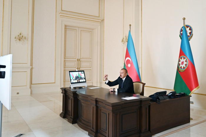President Ilham Aliyev comments on liberation of Azerbaijani villages from Armenian occupation