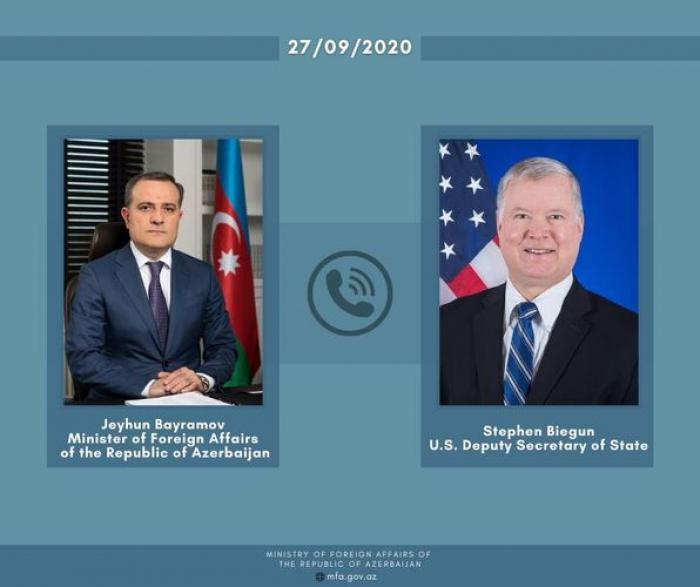 ABŞ rəsmisi cəbhədəki hadisələrlə bağlı məlumatlandırıldı