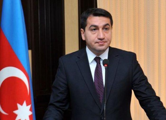 Police department, town for IDPs in Tartar shelled - Hikmat Hajiyev