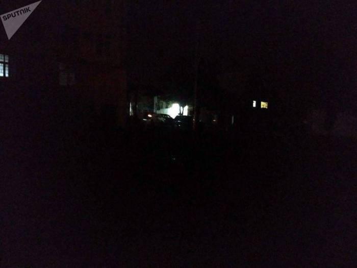 Khankendi stürzte in die Dunkelheit -   FOTOS