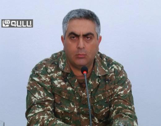 Artsrun Hovhannisyan: Azerbaijani Army resumes offensive