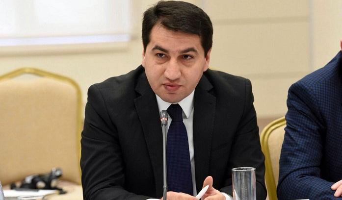 Hikmat Hajiyev gab Al Jaazera ein Interview