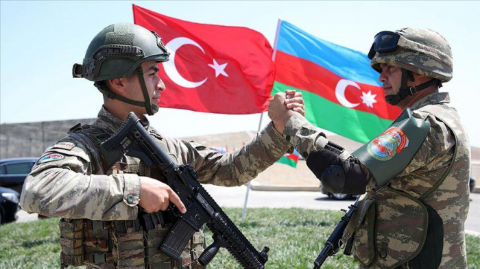Turkish Defense Ministry releases footage in support of Azerbaijani Army