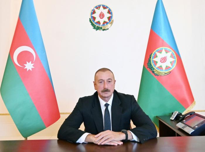 Ilham Aliyev a tenu une visioconférence avec le secrétaire général de l