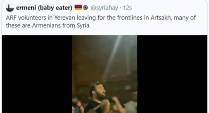 Armenia spread video of Armenian terrorist brought from Syria -  VIDEO