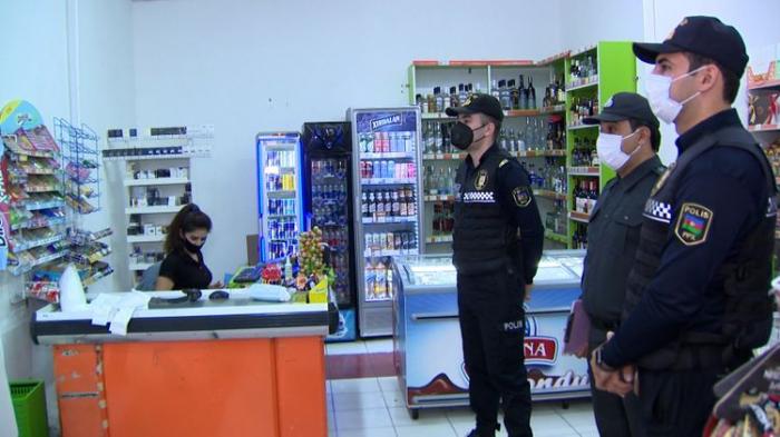 Bakı polisi reyd keçirdi