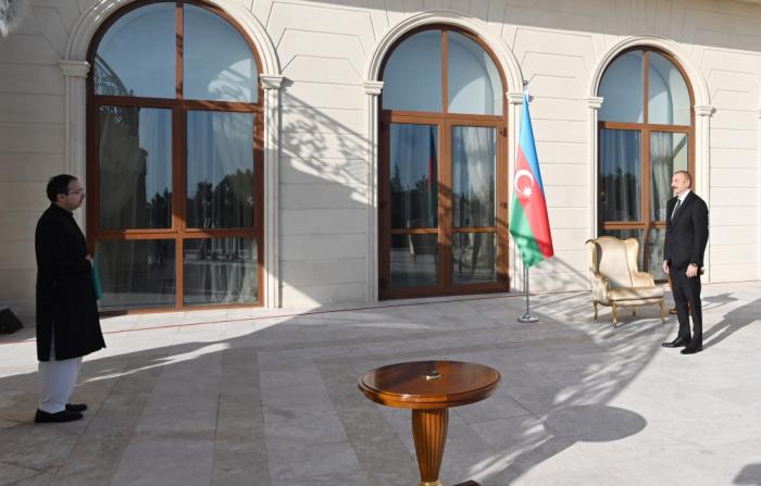 Prezident Pakistanın yeni səfirini qəbul etdi -  FOTO (YENİLƏNİB)